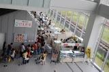 日本食堂への行列