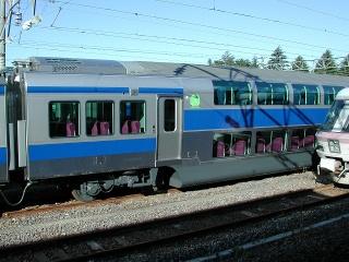 E531系のグリーン車車輌